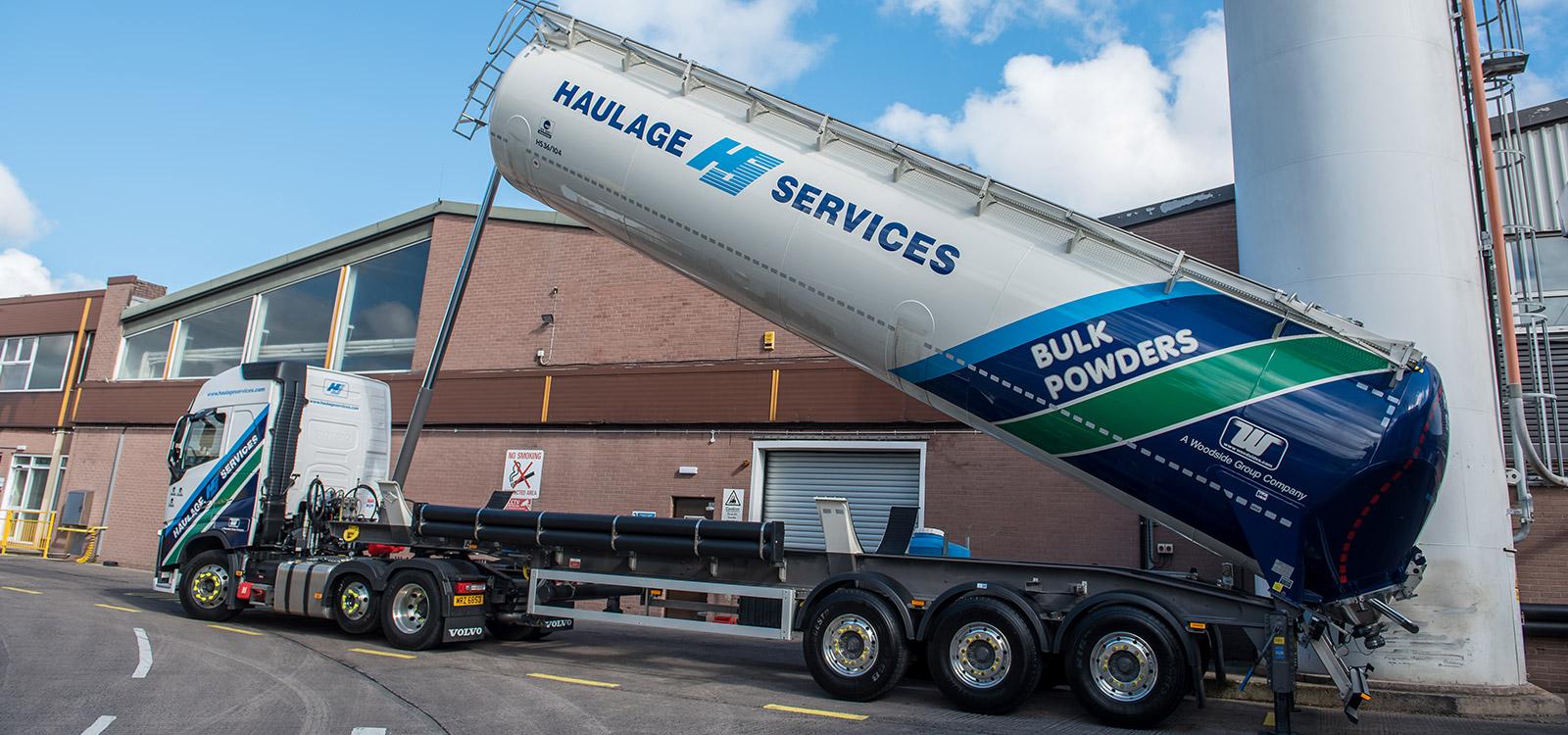 Bulk Transportation UK & Ireland | Haulage Services